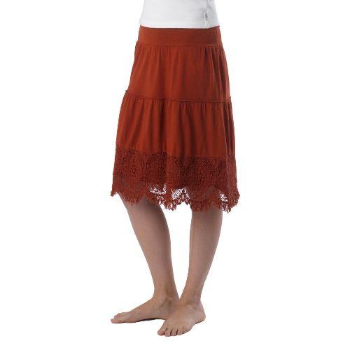 Womens Prana Jenni Fitness Skirts - Picante L