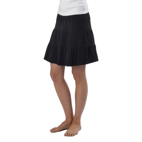 Womens Prana Kate Fitness Skirts - Black XL