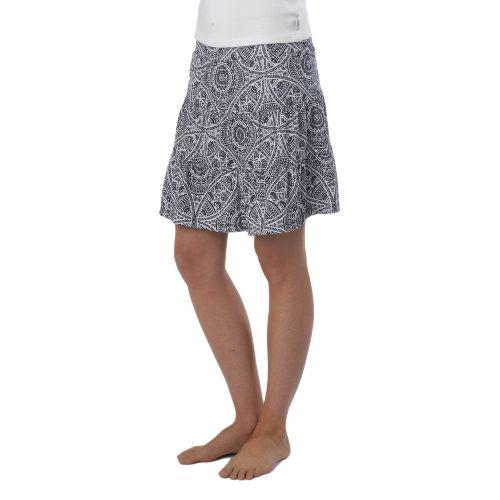 Womens Prana Kate Fitness Skirts - Black Mayan L