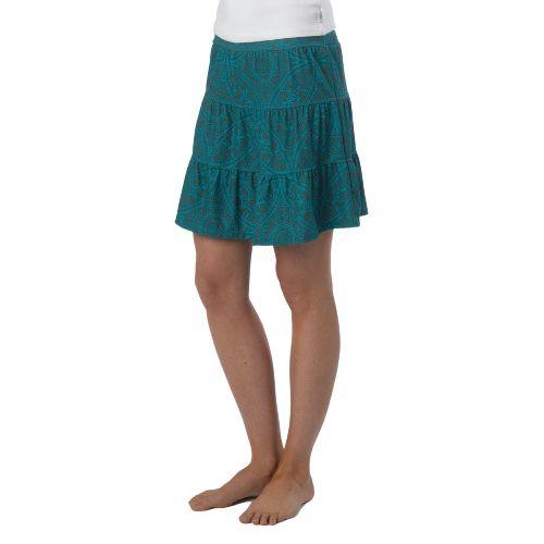 Womens Prana Kate Fitness Skirts - Dragonfly Mayan S