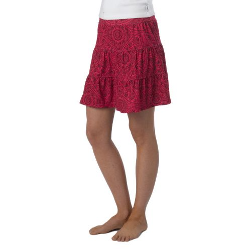 Womens Prana Kate Fitness Skirts - Fuchsia Mayan XL