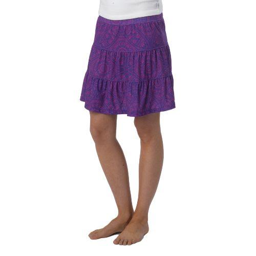 Womens Prana Kate Fitness Skirts - Sail Blue XL
