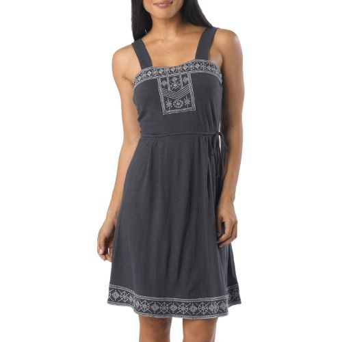 Womens Prana Indie Dress Fitness Skirts - Coal XL