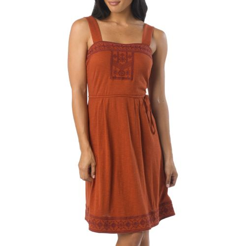 Womens Prana Indie Dress Fitness Skirts - Picante S
