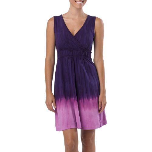 Womens Prana Sarafina Dress Fitness Skirts - Dark Grape L