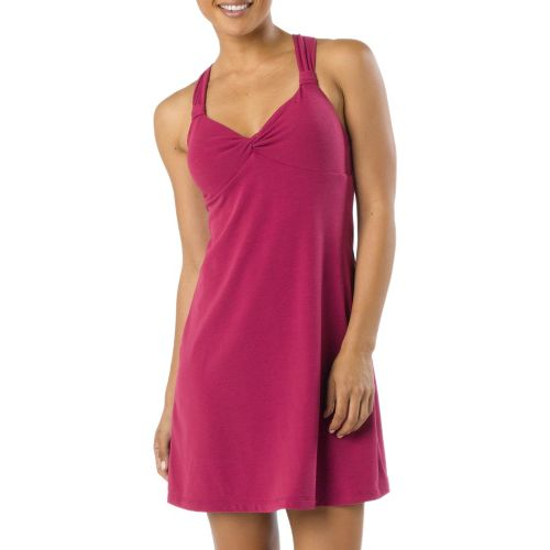 Womens Prana Manori Dress Fitness Skirts - Boysenberry S