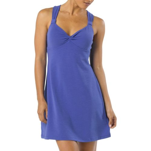 Womens Prana Manori Dress Fitness Skirts - Sail Blue XL