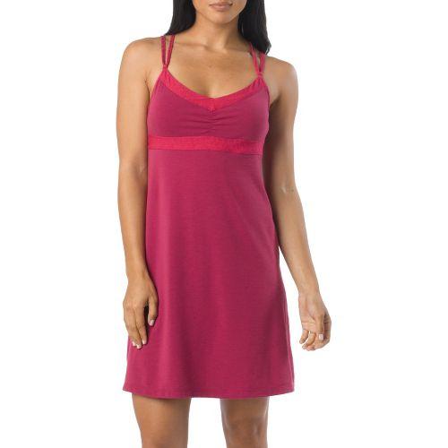 Womens Prana Kaley Dress Fitness Skirts - Boysenberry L
