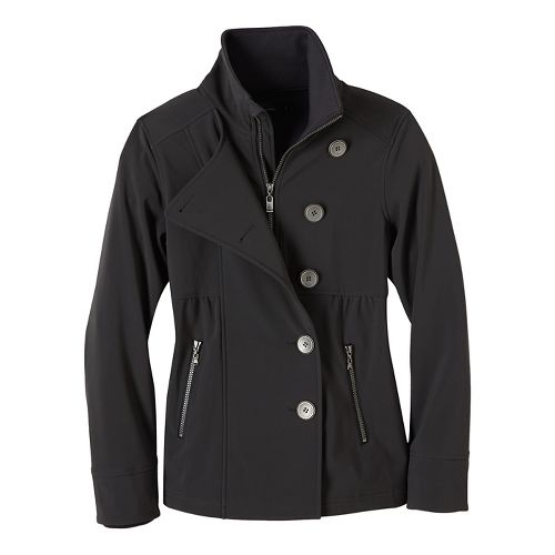 Womens prAna Martina Cold Weather Jackets - Grey S