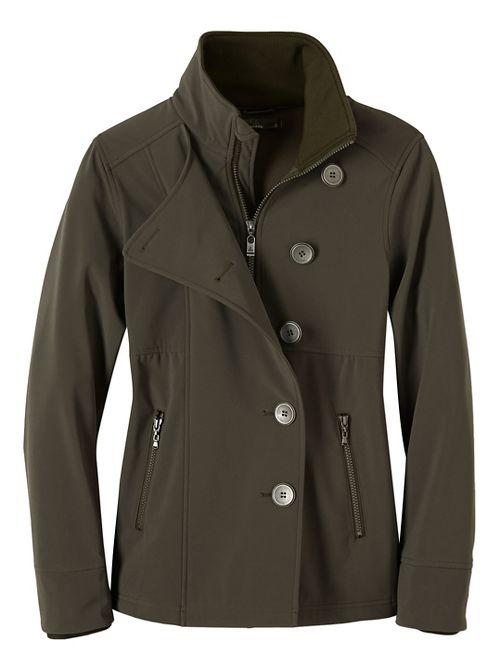 Womens prAna Martina Cold Weather Jackets - Green S