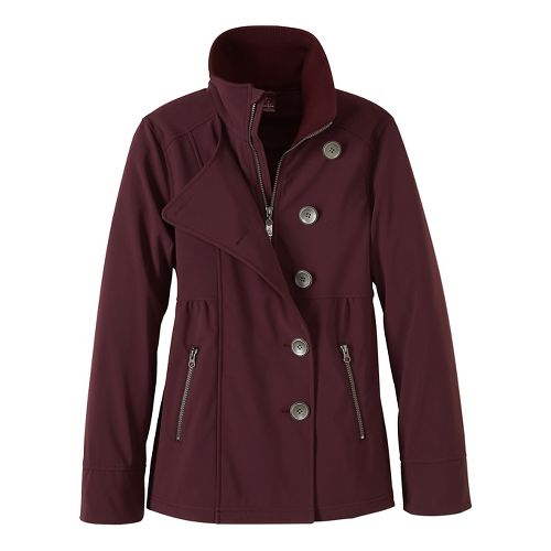 Womens prAna Martina Cold Weather Jackets - Purple S
