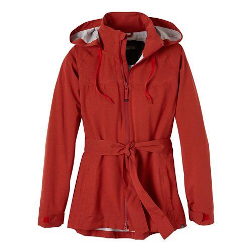 Womens Prana Eliza Jacket Warm-Up Hooded Jackets - Fireball M
