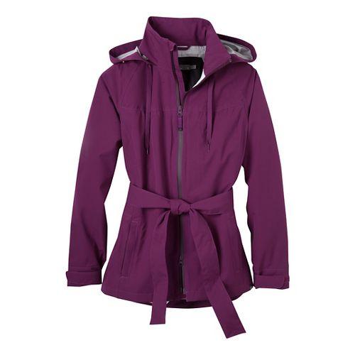 Womens Prana Eliza Jacket Warm-Up Hooded Jackets - Grapevine XS