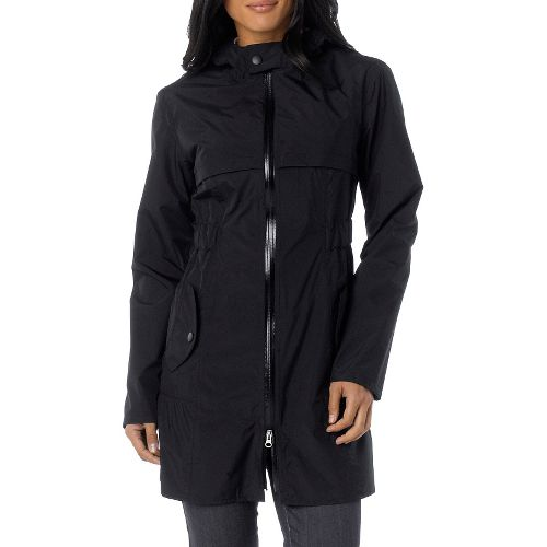 Womens Prana Jordi Jacket Warm-Up Hooded Jackets - Black S