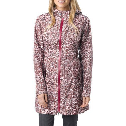 Womens Prana Jordi Jacket Warm-Up Hooded Jackets - Raisin M