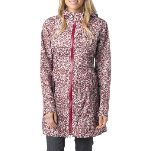 Womens Prana Jordi Jacket Warm-Up Hooded Jackets - Raisin XL
