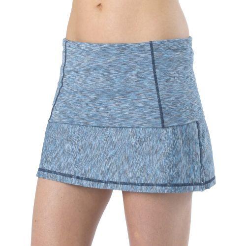 Womens Prana Venus Skort Fitness Skirts - Azure L