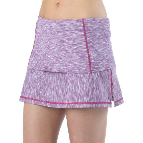 Womens Prana Venus Skort Fitness Skirts - Boysenberry L