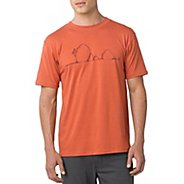 Mens Prana Boulder Short Sleeve Technical Tops