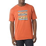 Mens Prana Traveler Short Sleeve Technical Tops