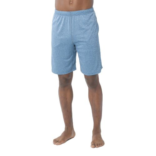 Mens Prana Talon Unlined Shorts - Blue Ash M