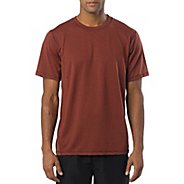 Mens Prana Crux Crew Short Sleeve Technical Tops