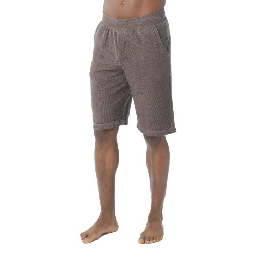Mens Prana Hughes Unlined Shorts - Espresso S