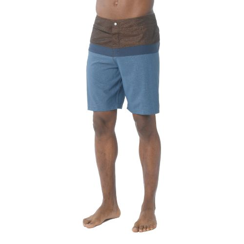 Mens Prana Montericco Unlined Shorts - Dusk Blue 38