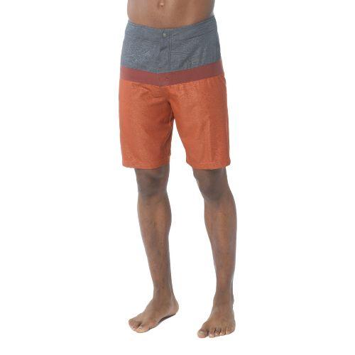 Mens Prana Montericco Unlined Shorts - Raisin 34