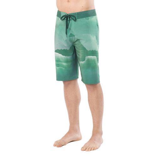 Mens Prana Mountain Unlined Shorts - Green 36