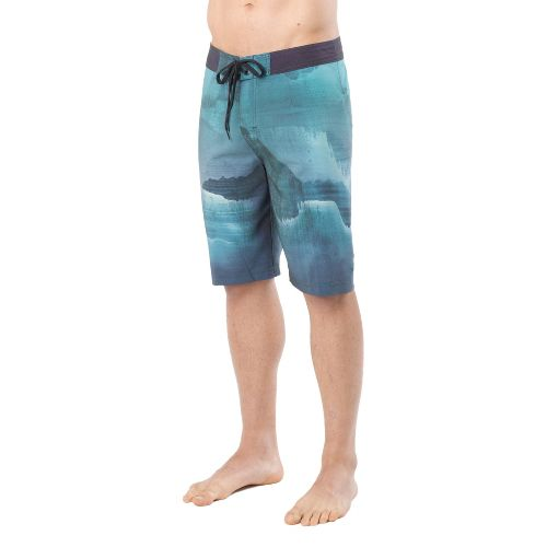 Mens Prana Mountain Unlined Shorts - Teal 30
