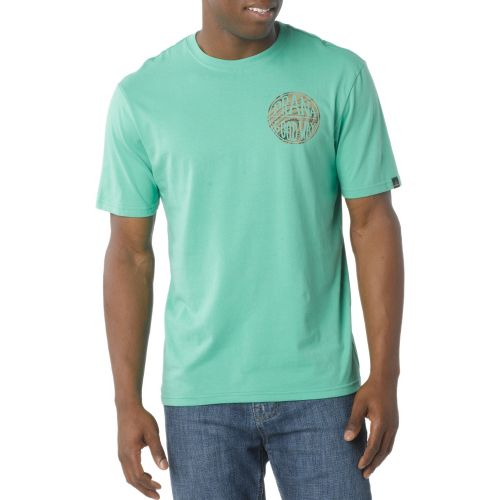 Mens Prana Good Stuff Short Sleeve Non-Technical Tops - Cloverfield XXL