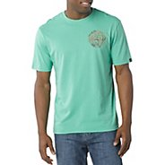 Mens Prana Good Stuff Short Sleeve Non-Technical Tops