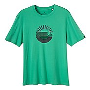 Mens Prana Sunrise Short Sleeve Non-Technical Tops