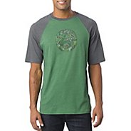 Mens Prana Barrel Short Sleeve Technical Tops