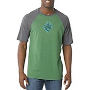 Mens Prana Chalk Short Sleeve Technical Tops