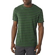 Mens Prana Mateo Crew Short Sleeve Technical Tops