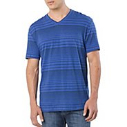 Mens Prana Vasquez V-Neck Short Sleeve Technical Tops