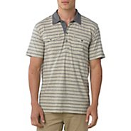 Mens Prana De Silva Polo Short Sleeve Non-Technical Tops