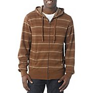 Mens Prana Diego Reversible Warm-Up Hooded Jackets