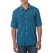 Mens Prana Terrain Short Sleeve Non-Technical Tops