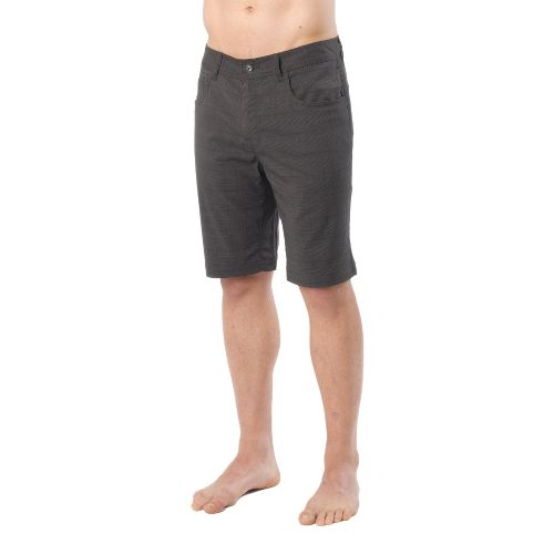 Mens Prana Ivan Unlined Shorts - Black 28