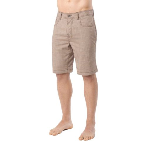 Mens Prana Ivan Unlined Shorts - Khaki 28