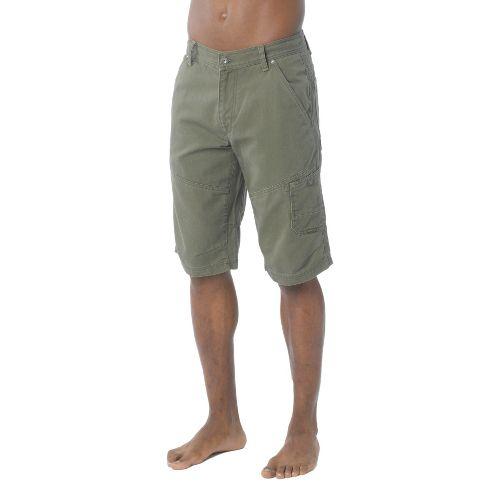 Mens Prana Rawkus Unlined Shorts - Cargo Green 33
