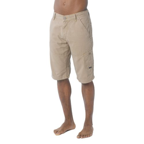 Mens Prana Rawkus Unlined Shorts - Dark Khaki 32