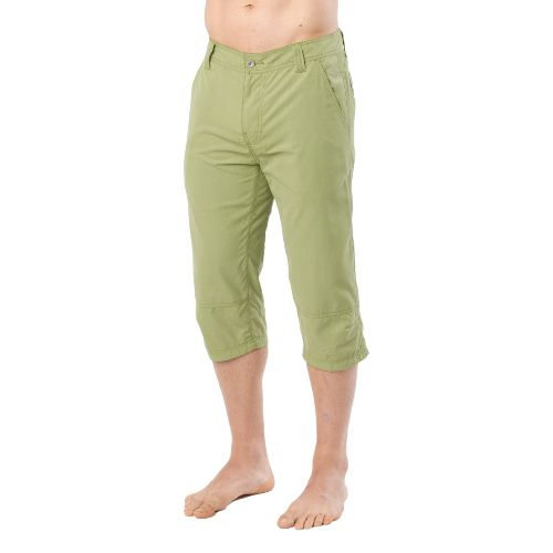 Mens Prana Oland Knicker Unlined Shorts - Cargo Green 33