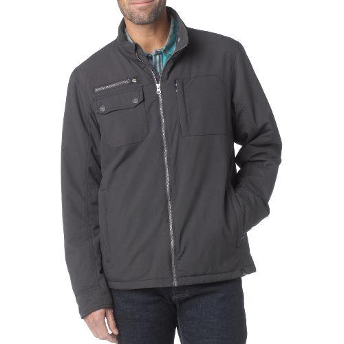Mens Prana Carter Outerwear Jackets - Charcoal S