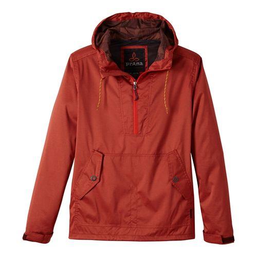 Mens Prana Dax Outerwear Jackets - Fireball L
