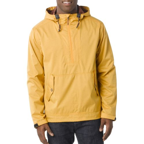 Mens Prana Dax Outerwear Jackets - Curry XXL