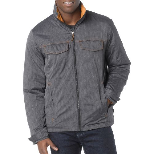 Mens Prana Bannon Outerwear Jackets - Black L